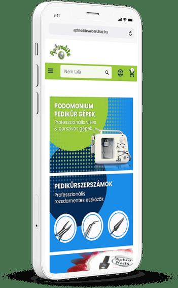 Aphrodite webaruhaz mobil