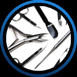 Aphrodite 97 - PediPlanet termékcsalád manikűr és pedikűr eszközök